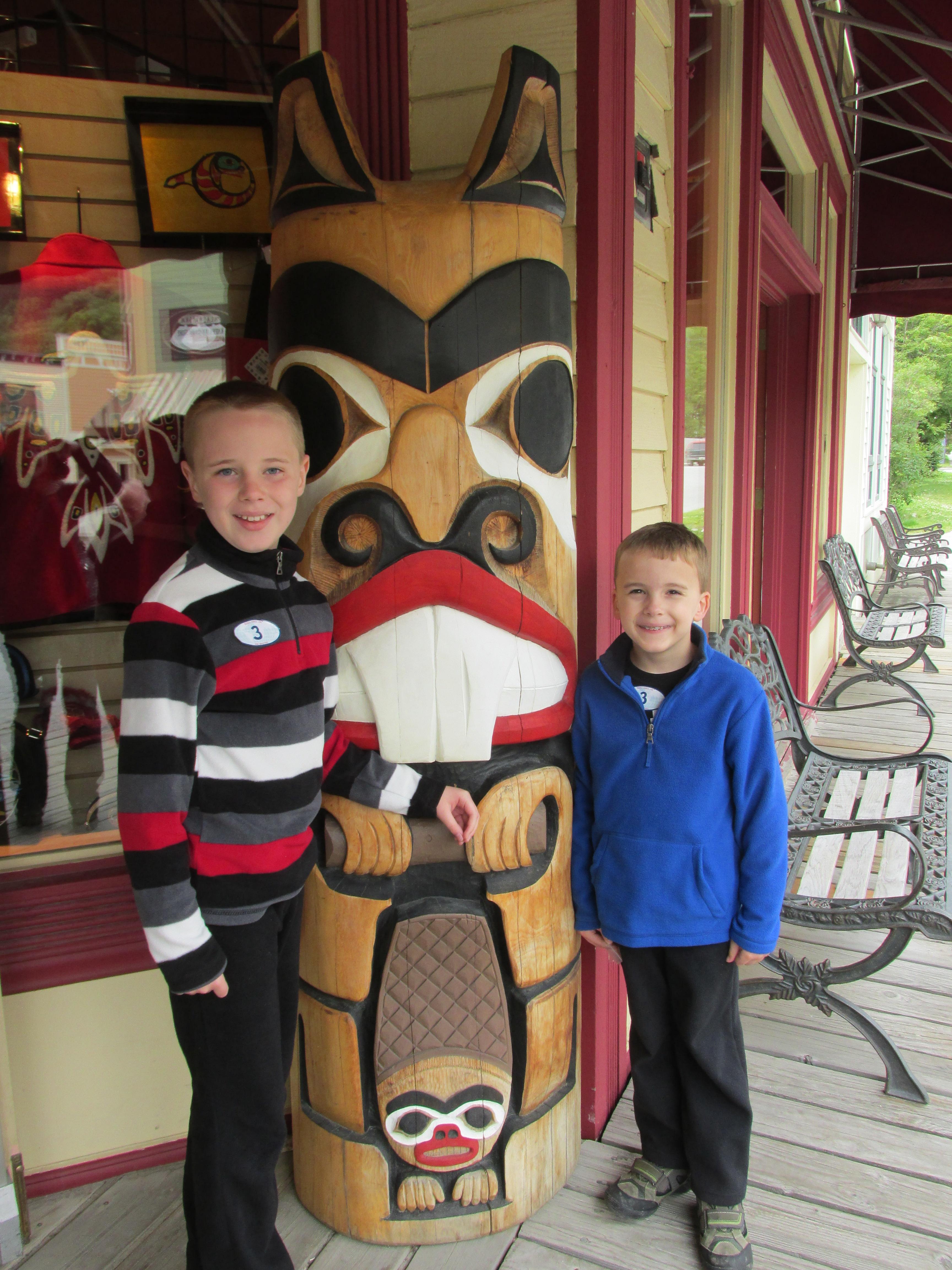 Skagway Totem