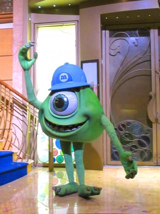 Pixar Pals on Disney Wonder