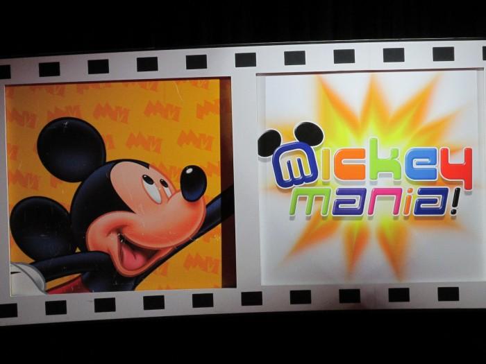 Mickey Mania on Disney Wonder