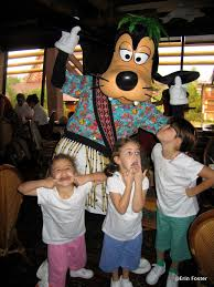 There are character dining experiences outside the theme parks.