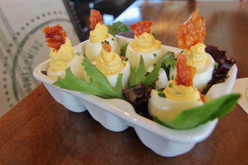 Homecoming Kitchen's Church Lady Deviled Eggs