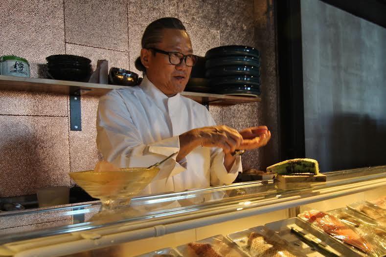 Sushi etiquette lesson from Chef Morimoto