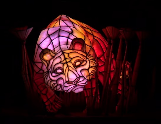Rivers of Light animal float (tiger)