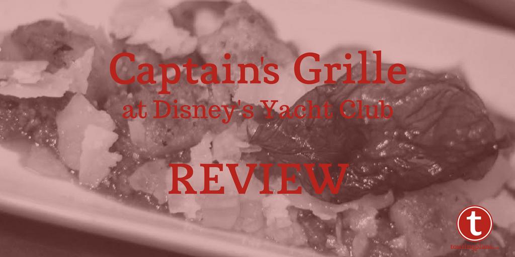 Captain's Grille Review