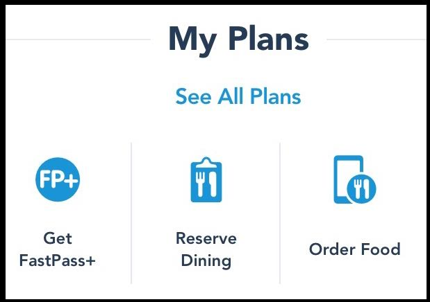 "Select ""Order Food"" under ""My Plans"" to begin your mobile order"