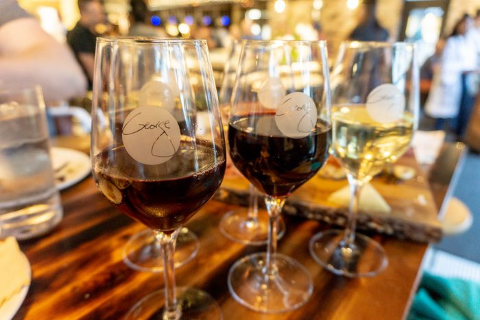 Many, many glasses of wine