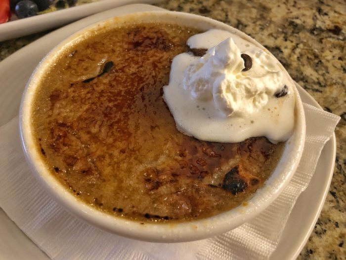 Capuccino creme brulee