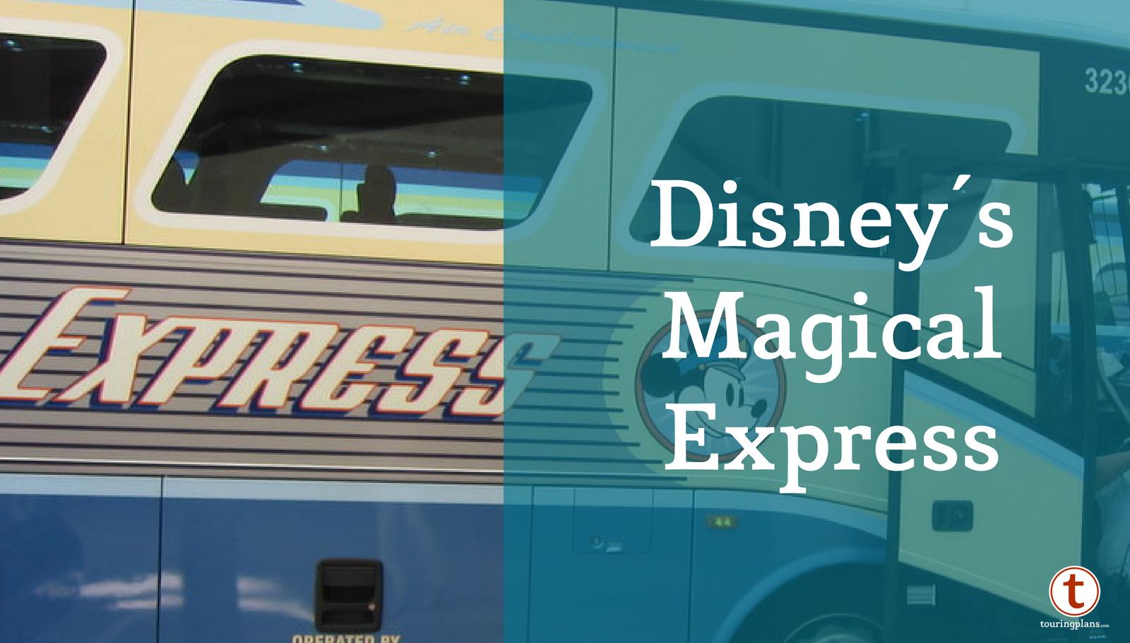 Disney's Magical Express FAQ Update - TouringPlans com Blog