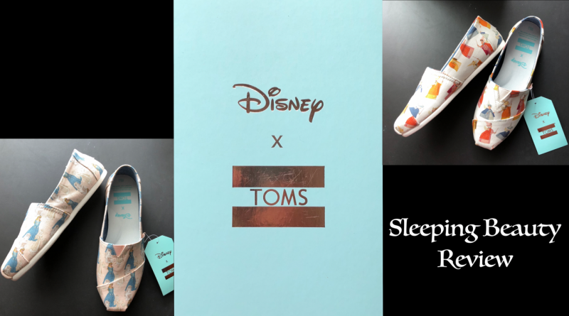3ee1aa76aaf Disney X TOMS Sleeping Beauty Shoes Review + Video - TouringPlans ...
