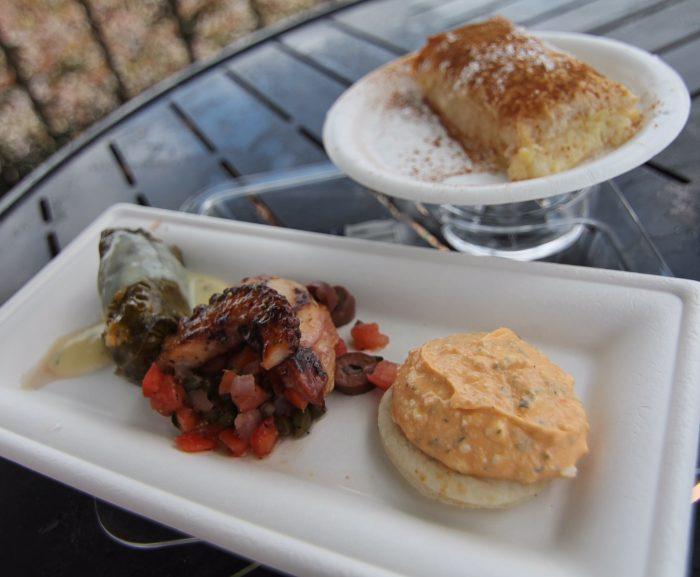Greece's Taste of Greece (pictured with Bougatsa)