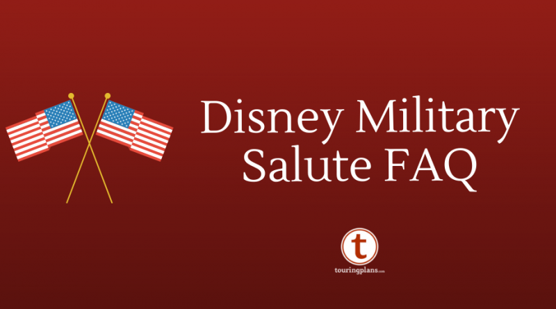 10 Frequently Asked Questions About Disney's Military Salute