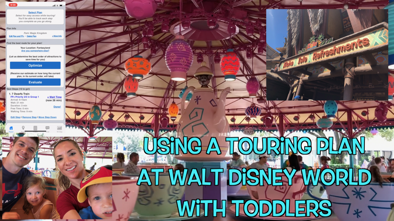 Using A Touring Plan At Walt Disney World With Toddlers Lines Video