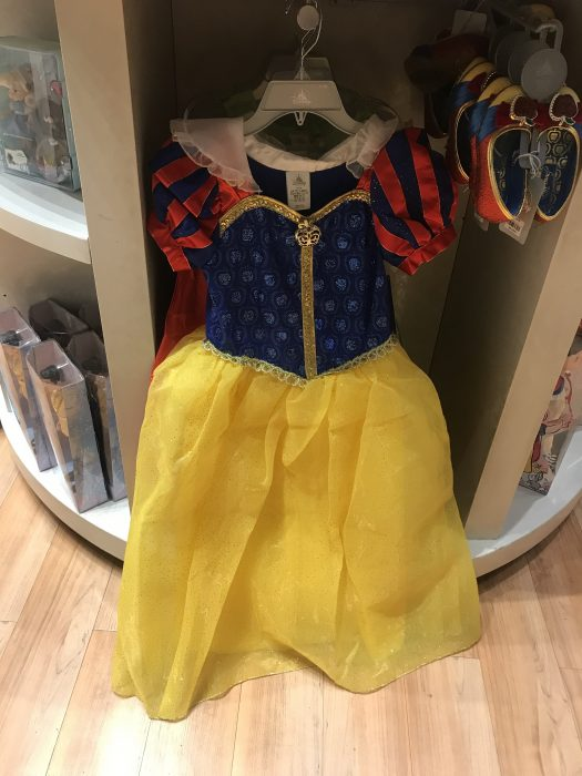New Disney World Parks Red BELLE Deluxe Costume Dress L