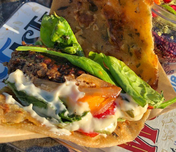Trowel & Trellis' Meatball Sandwich