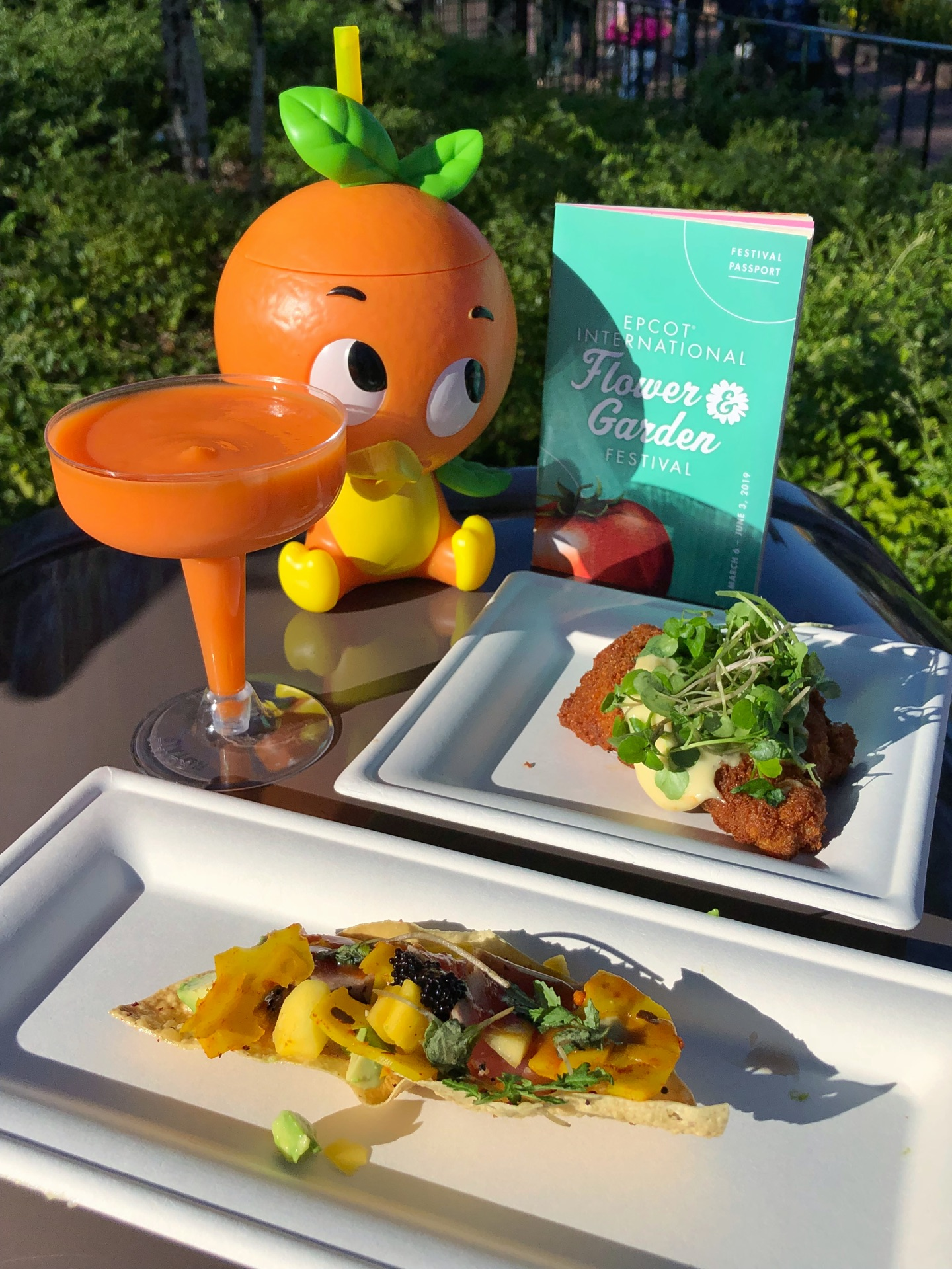 new booths and bites at the 2019 epcot flower and garden festival