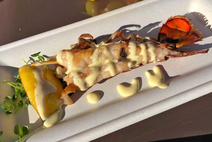 Citrus Blossom's lobster tail