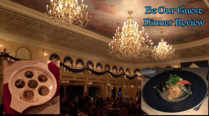 Be Our Guest Dinner Review Video Touringplans Com Blog
