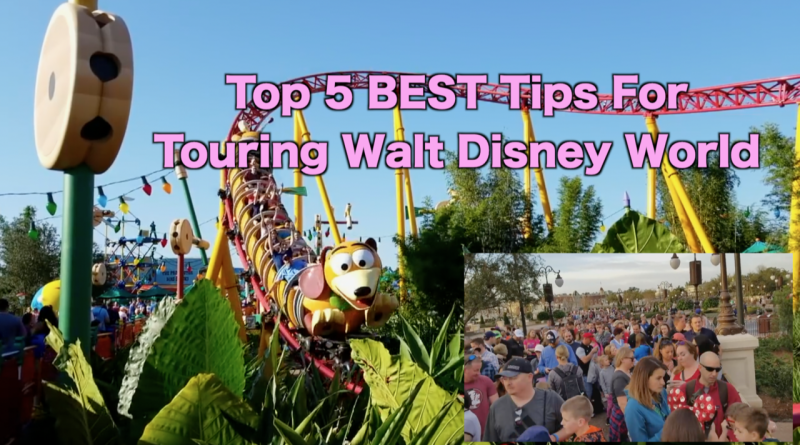 Our Top 5 Best Tips for Touring Walt Disney World + Video