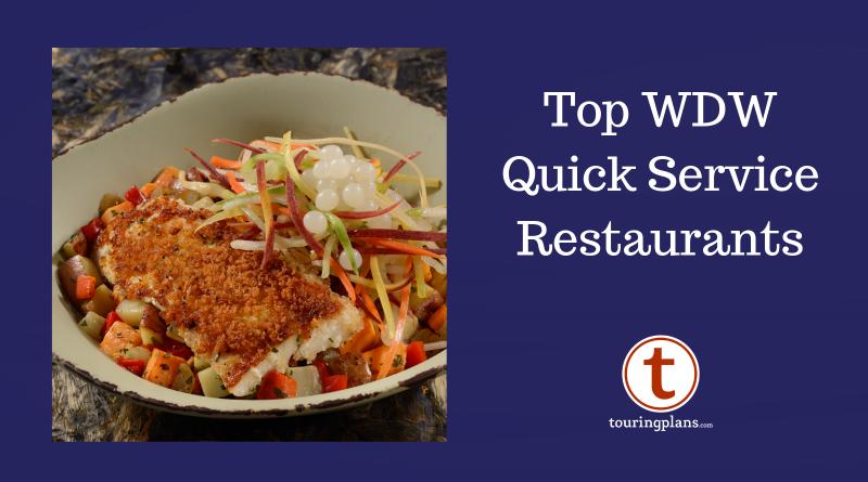 Best Quick Service Restaurants At Walt Disney World