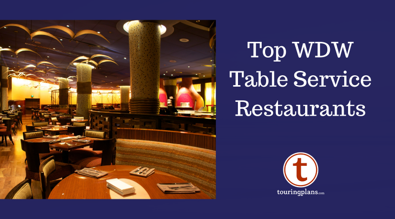Best Table Service Restaurants At Walt Disney World