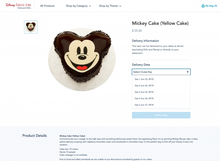 DCL Guests Can Now Order In-Room Gifts Online - TouringPlans