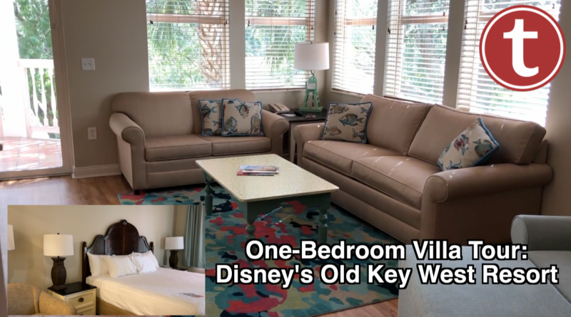 OneBedroom Villa Tour Disney's Old Key West Resort Video Stunning Disney Old Key West One Bedroom Villa