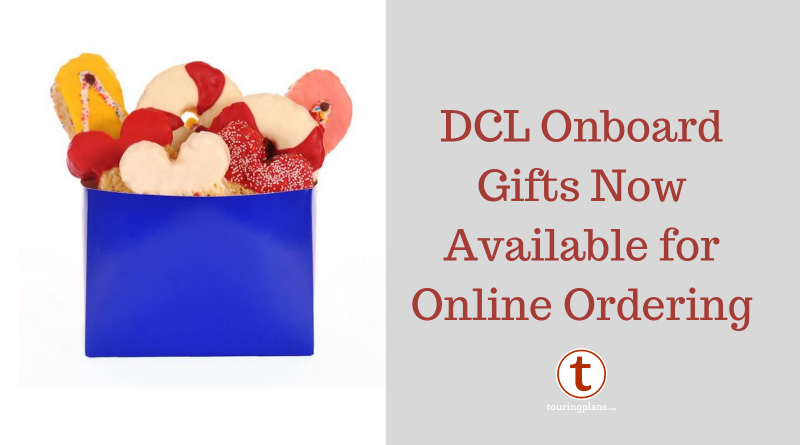 DCL Guests Can Now Order In-Room Gifts Online - TouringPlans com Blog