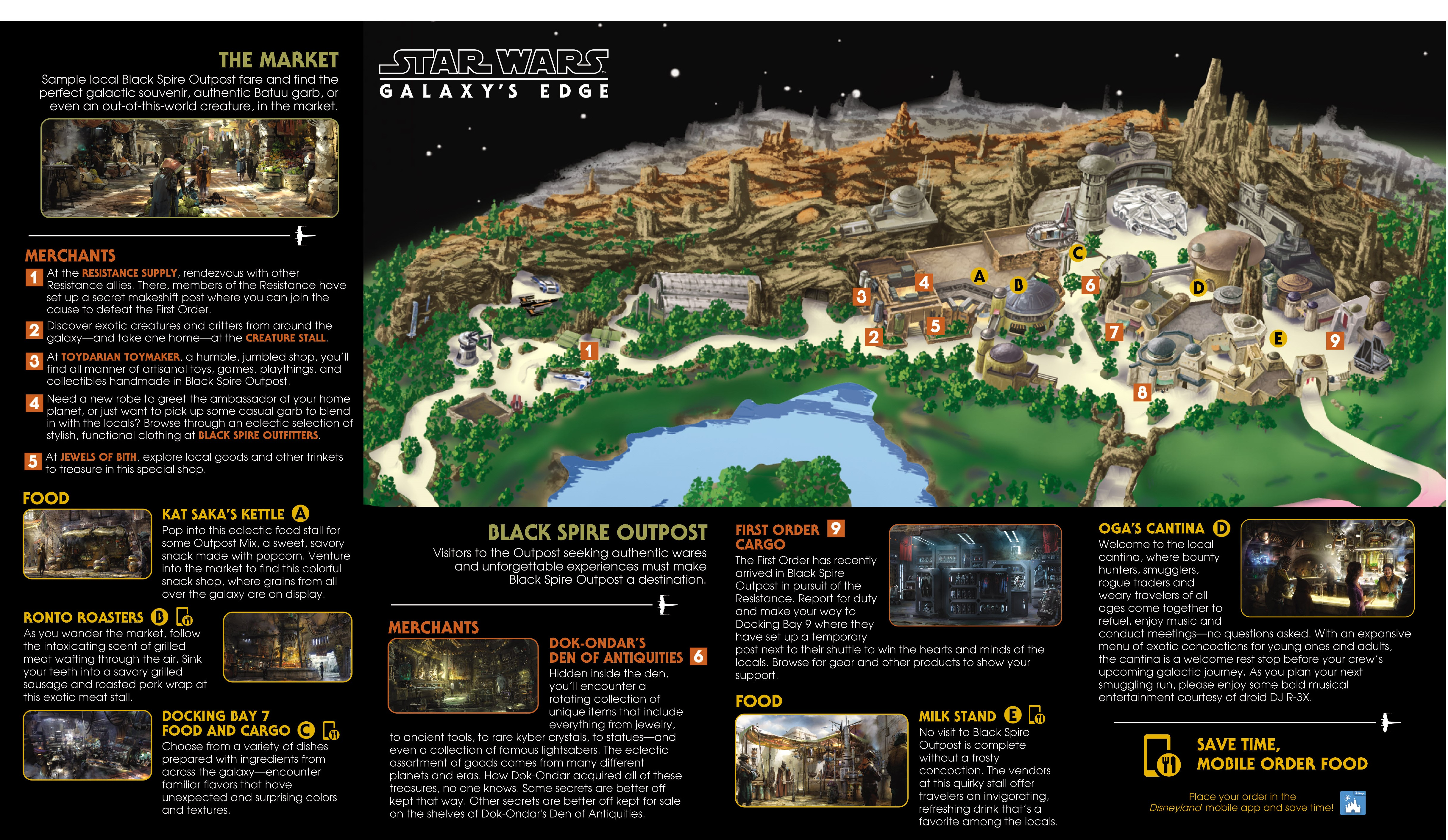 Galaxy\'s Edge Map Now Released - TouringPlans.com Blog