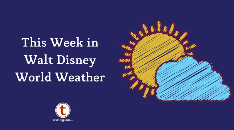 This Week In Walt Disney World Weather September 16 2019