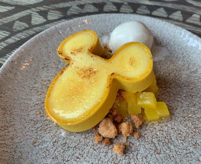 Vanilla Custard Mickey Tart