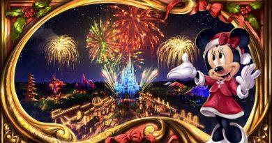 Minnie's Wonderful Christmastime Fireworks Show