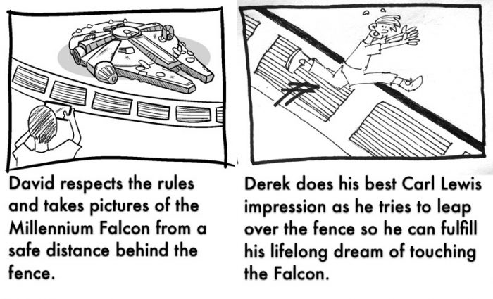 SATURDAY SIX: The Do's and Don'ts of STAR WARS: GALAXY'S