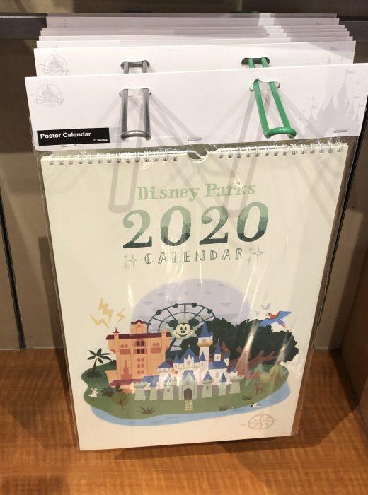 Disneyland Calendar 2020.New 2020 Calendars At Disney Parks Touringplans Com Blog
