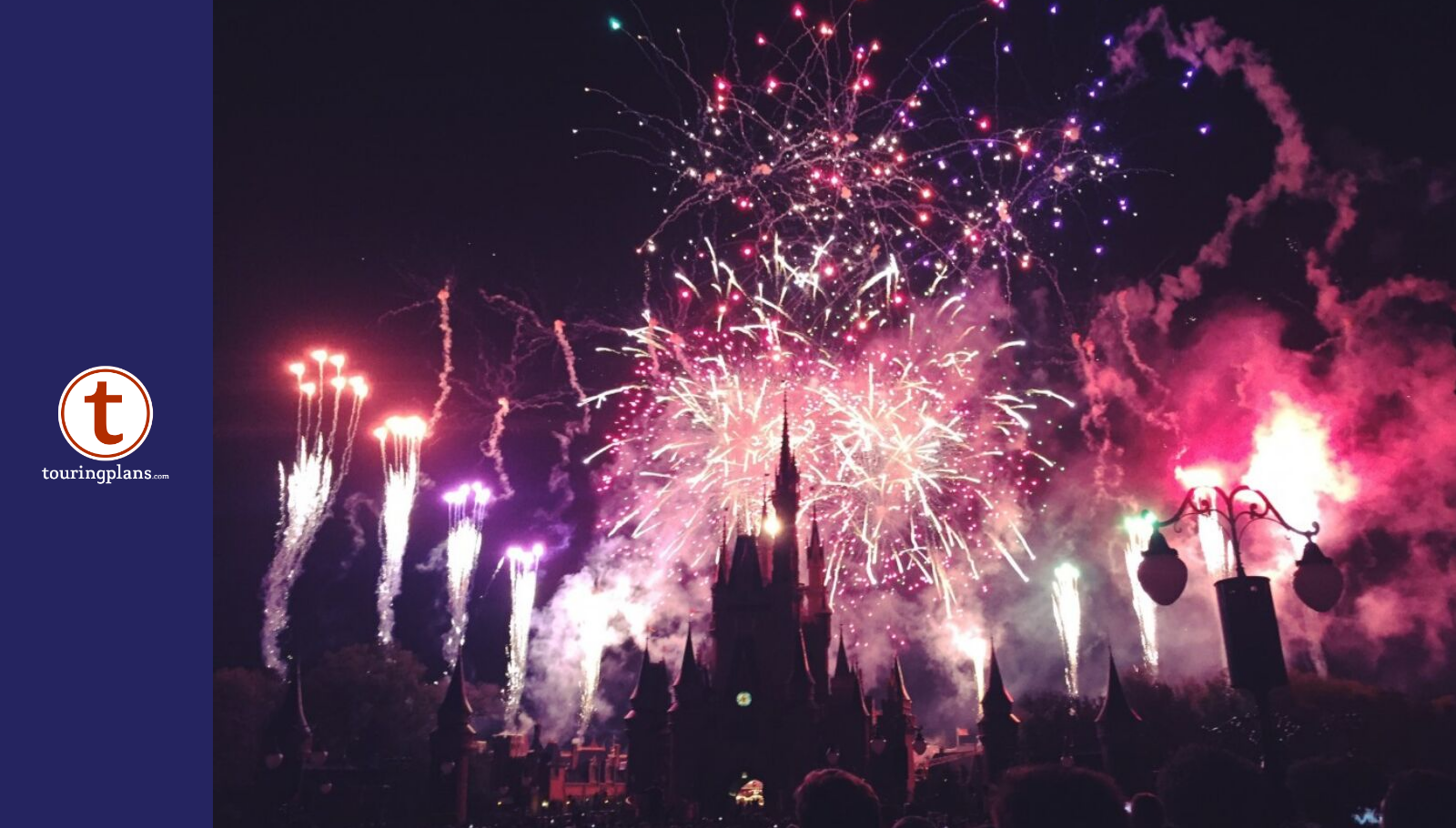 The Best Place to Watch the Magic Kingdom Fireworks Outside