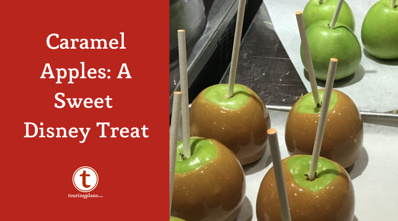 The Saner Sweet Snack Disney Caramel Apples Touringplans Com Blog