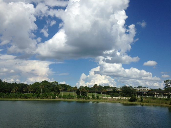 A September afternoon on the Seven Seas Lagoon... looks pretty summery!