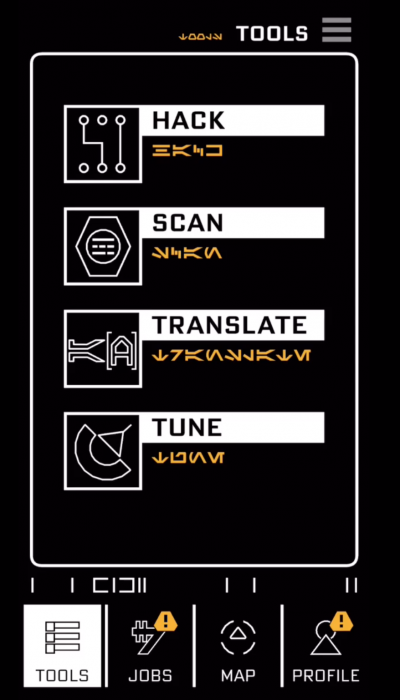 Star Wars: Galaxy's Edge Datapad Translation Feature