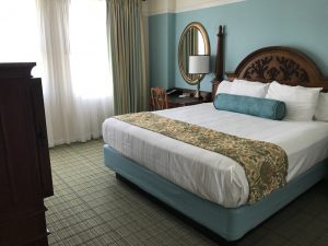 Picture of a bed at Saratoga Springs
