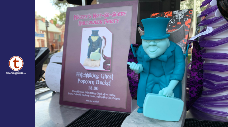 Disney Halloween 2020 Popcorn Bucket Haunted Mansion Popcorn Bucket is a Spooky Treat!   TouringPlans