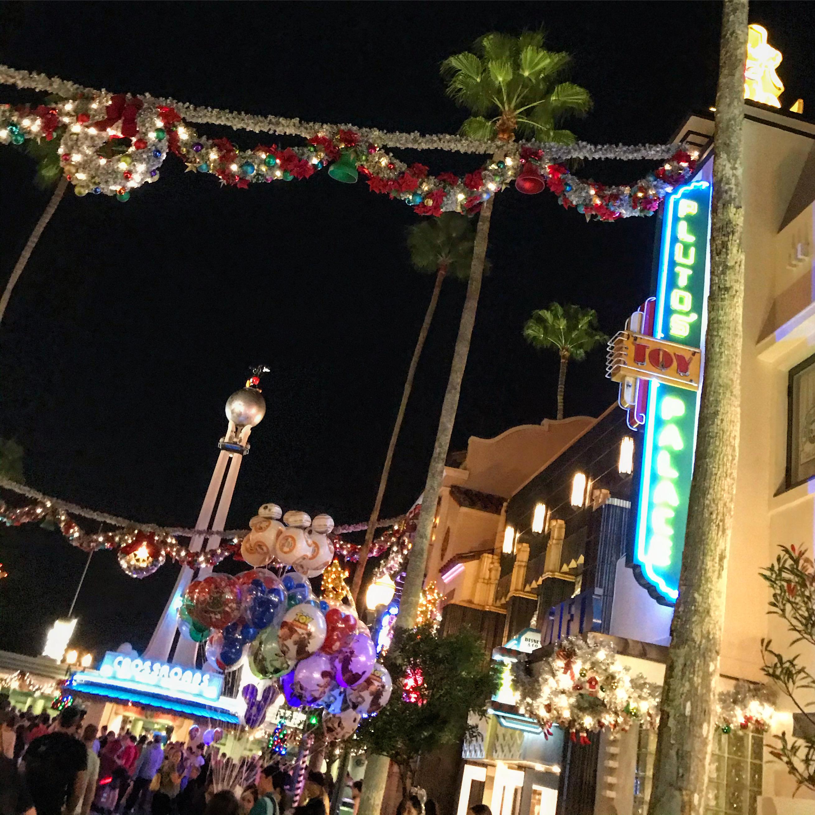 Disney's Hollywood Studios Christmas