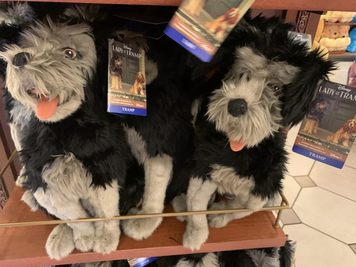 Lady And The Tramp Plush And Tee Tie Into New Disney Movie Touringplans Com Blog