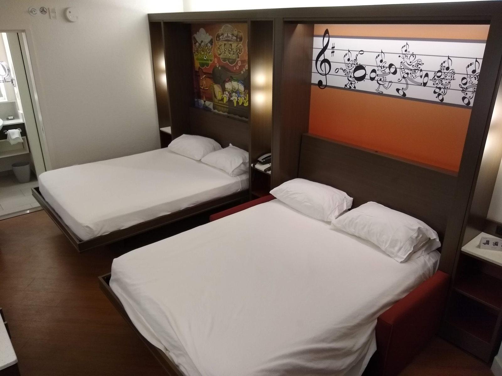 Photos Renovated All Star Music Family Suites Quick Photo Tour Touringplans Com Blog