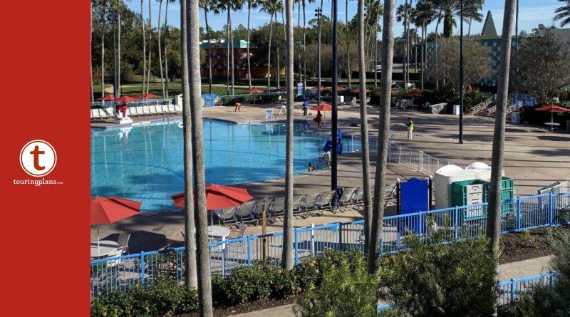 PHOTOS: Disney\'s All Star Movies Pool Refurbishment ...