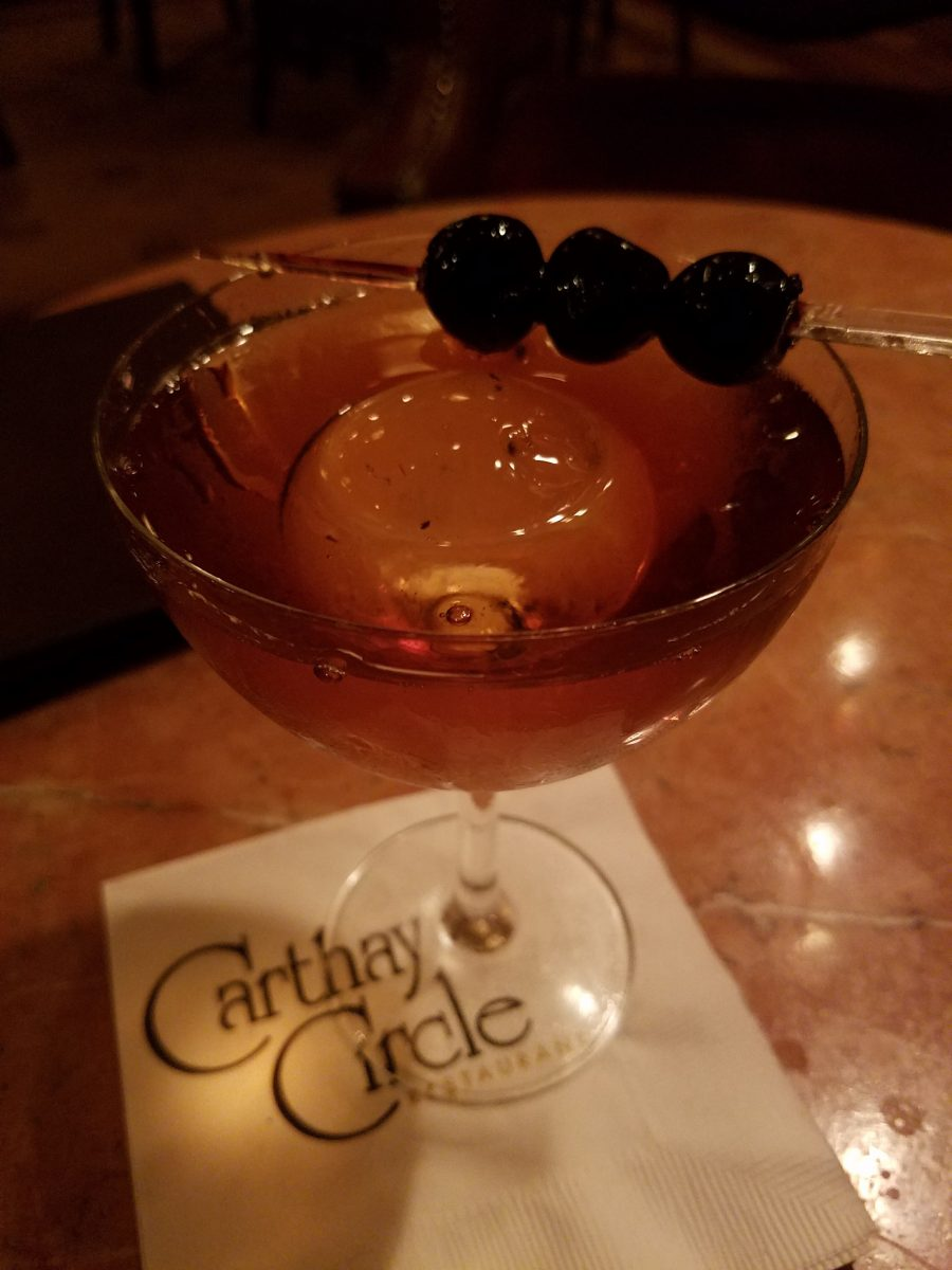 Carthay cocktail