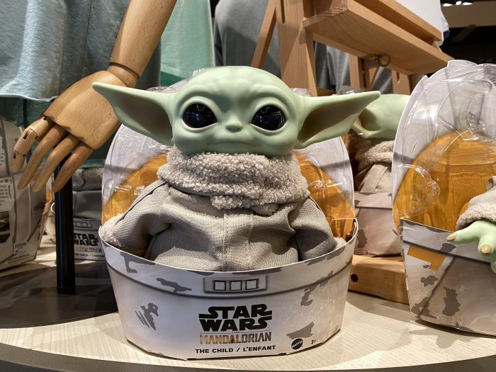 The Child Plush by Mattel Arrives to Disney Springs