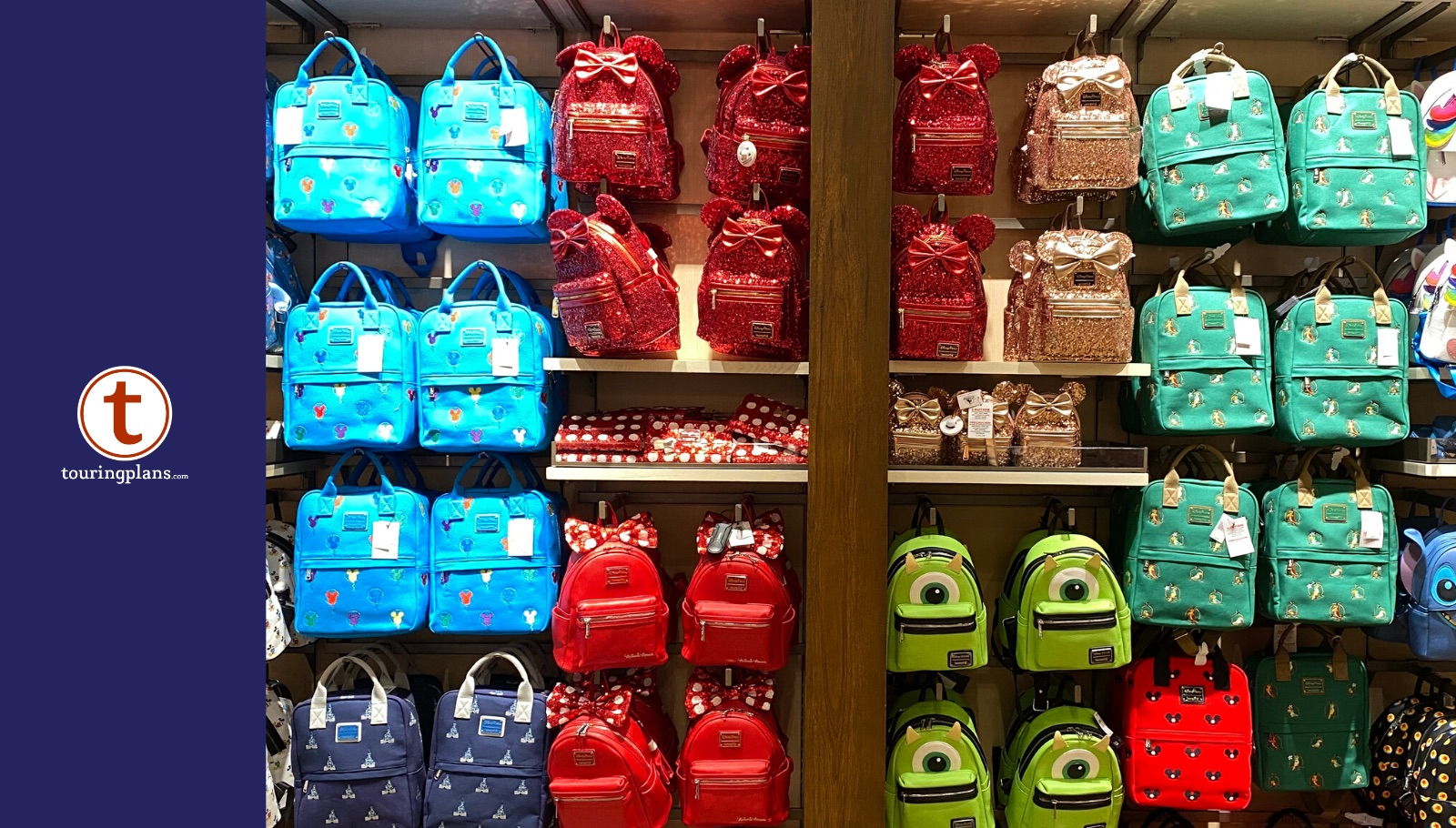 New Disney Loungefly Canvas Backpacks Have Magical Designs Touringplans Com Blog