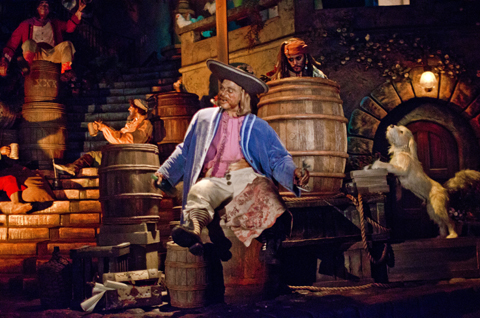 pirates disneyland