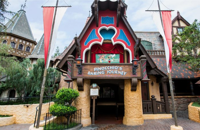Disneyland's Pinocchio's Daring Journey — Better Know an Attraction Pinocchio entrance