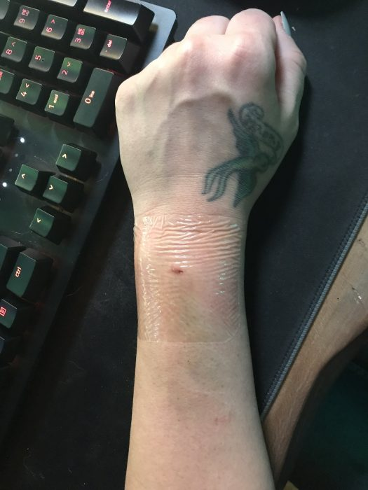 My Attempt to Become A Disney Cyborg — FINAL UPDATE wrist with chip