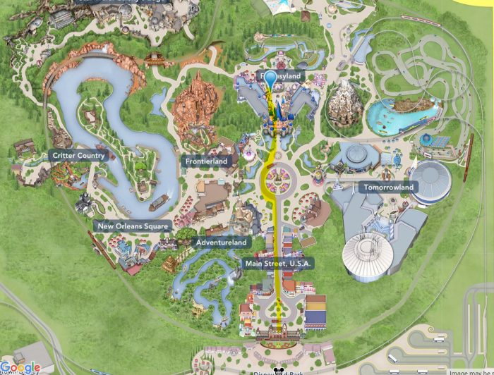 Disneyland's Pinocchio's Daring Journey — Better Know an Attraction map
